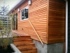 Berkeley House Addition deck and cedar siding
