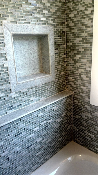 Detail of Shower Alcove