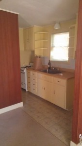 This was the old kitchen